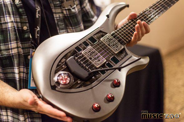 NAMM 2017: Ernie Ball Music Man Majesty NOMAC Limited Edition Guitar ...