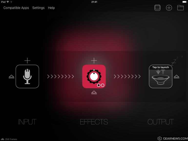 Audiobus 2 for iPad