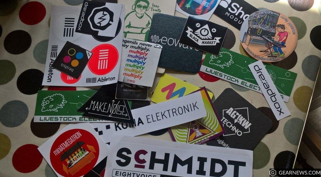Stickers from Superbooth