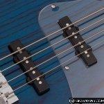 Cort GB74JJ AB Swamp Ash Bass in Aqua Blue
