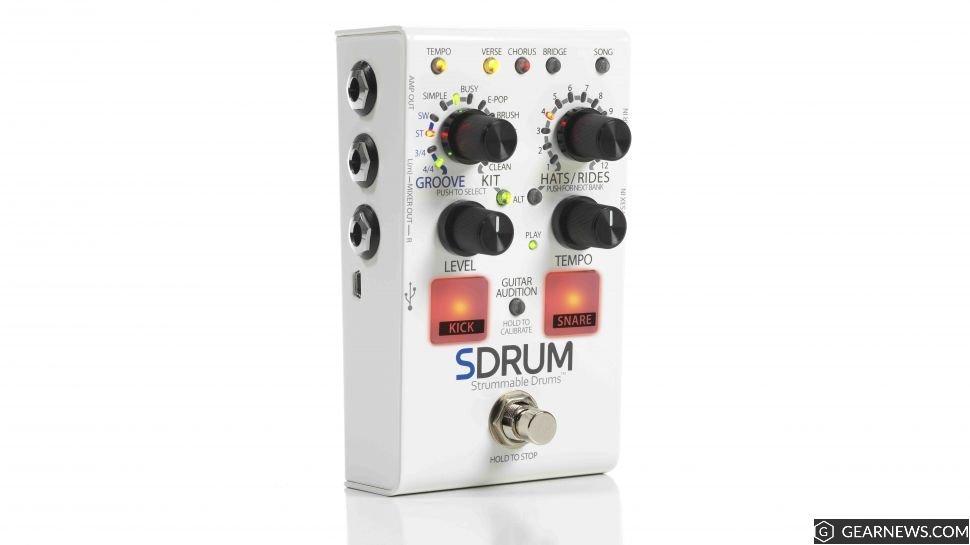 Digitech SDRUM Strummable Drum pedal