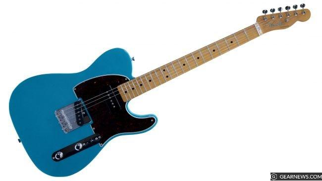 Fender FSR P-90 loaded Telecaster in Lake Placid Blue