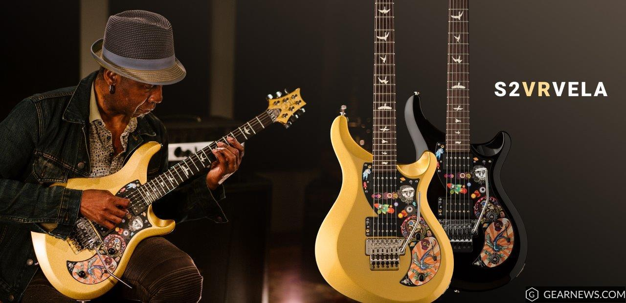 Vernon Reid and his new VR Vela signature model