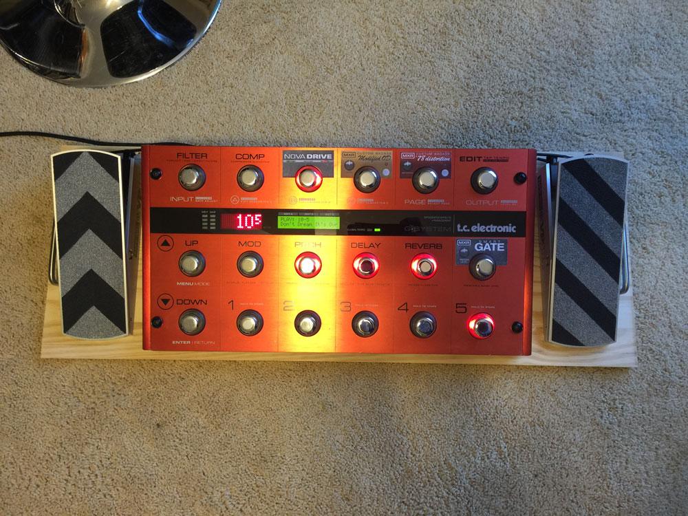 gsys pedalboard pics