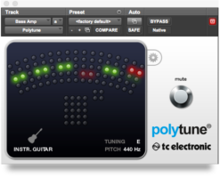 TC Electronic Introduces PolyTune Plug-In
